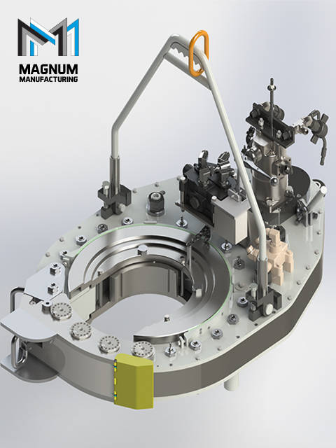 Hydraulic Casing HD Power Tongs from Magnum Casing Tools, TX