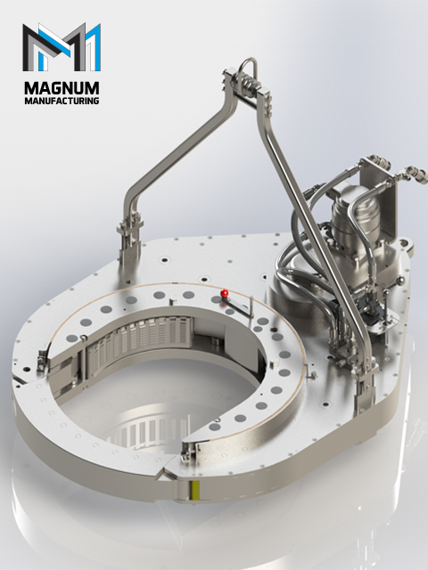 Hydraulic Power Tongs Manufacturer - Magnum Manufacturing, Houston, TX